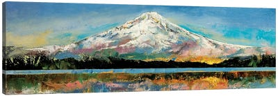 Mount Hood Canvas Art Print