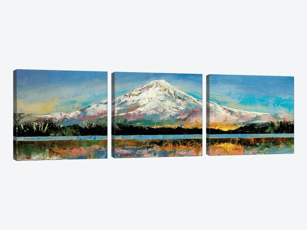 Mount Hood by Michael Creese 3-piece Canvas Artwork