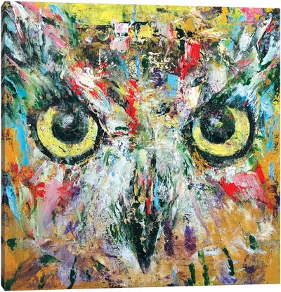 Mystic Owl Canvas Art Print