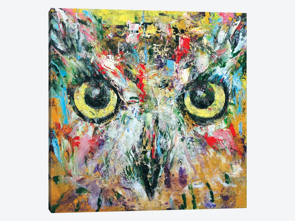 Mystic Owl by Michael Creese 1-piece Canvas Art Print