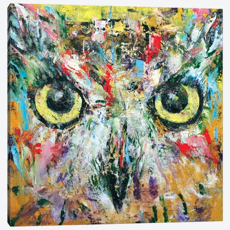 Mystic Owl Canvas Print #MCR79} by Michael Creese Canvas Art Print