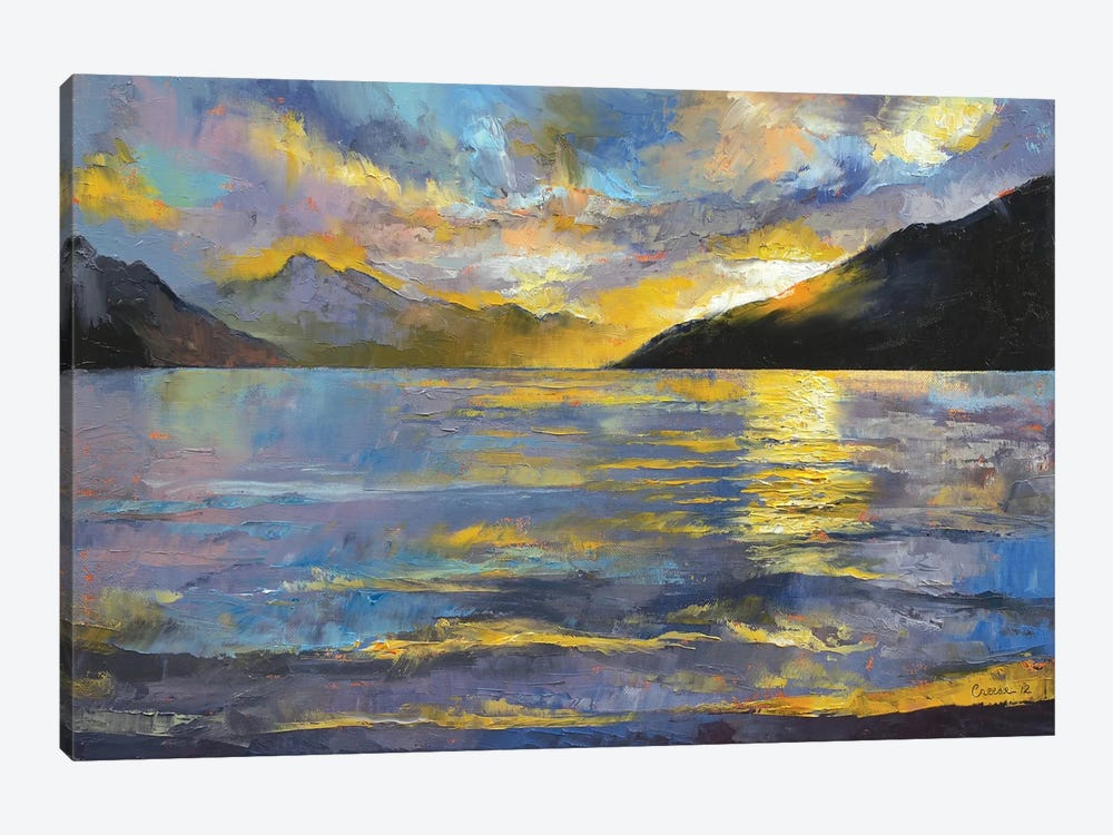 New Zealand Sunset by Michael Creese 1-piece Art Print