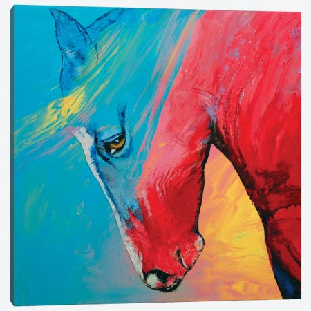 Painted Horse Canvas Print #MCR83} by Michael Creese Canvas Art