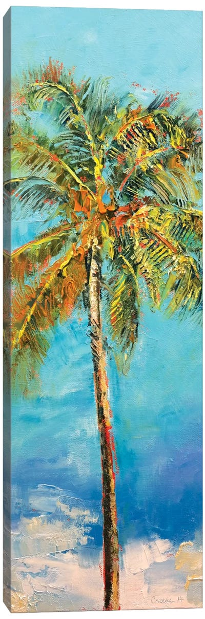 Palm Tree Canvas Print #MCR85