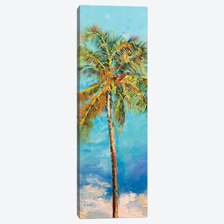 Palm Tree Canvas Print #MCR85} by Michael Creese Canvas Art Print