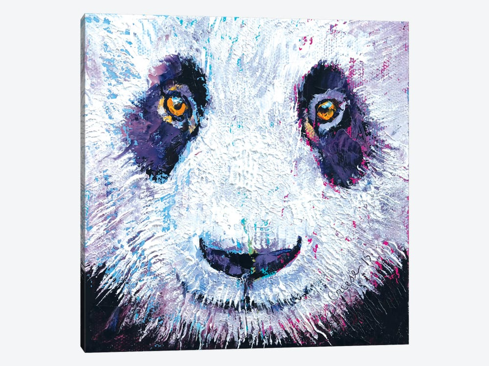 Panda by Michael Creese 1-piece Canvas Print