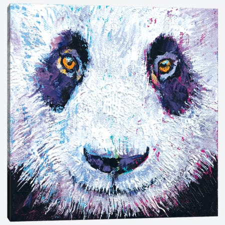 Panda Canvas Print #MCR86} by Michael Creese Canvas Print