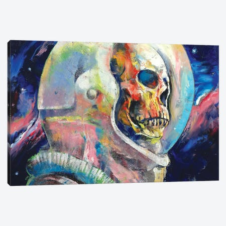 Astronaut Canvas Print #MCR8} by Michael Creese Canvas Art