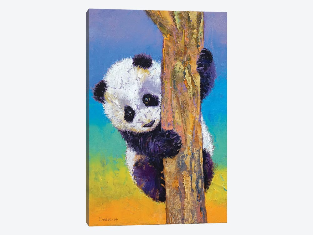 Peekaboo by Michael Creese 1-piece Canvas Artwork