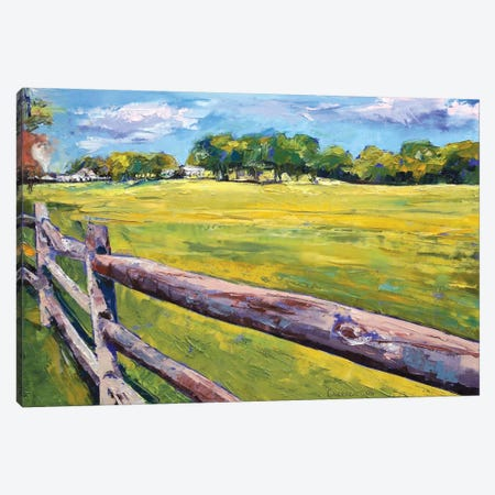 Pennsylvania Farm Canvas Print #MCR95} by Michael Creese Canvas Wall Art