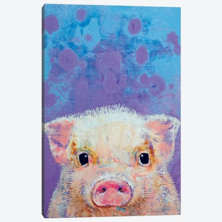 Piglet Canvas Print #MCR96} by Michael Creese Canvas Wall Art