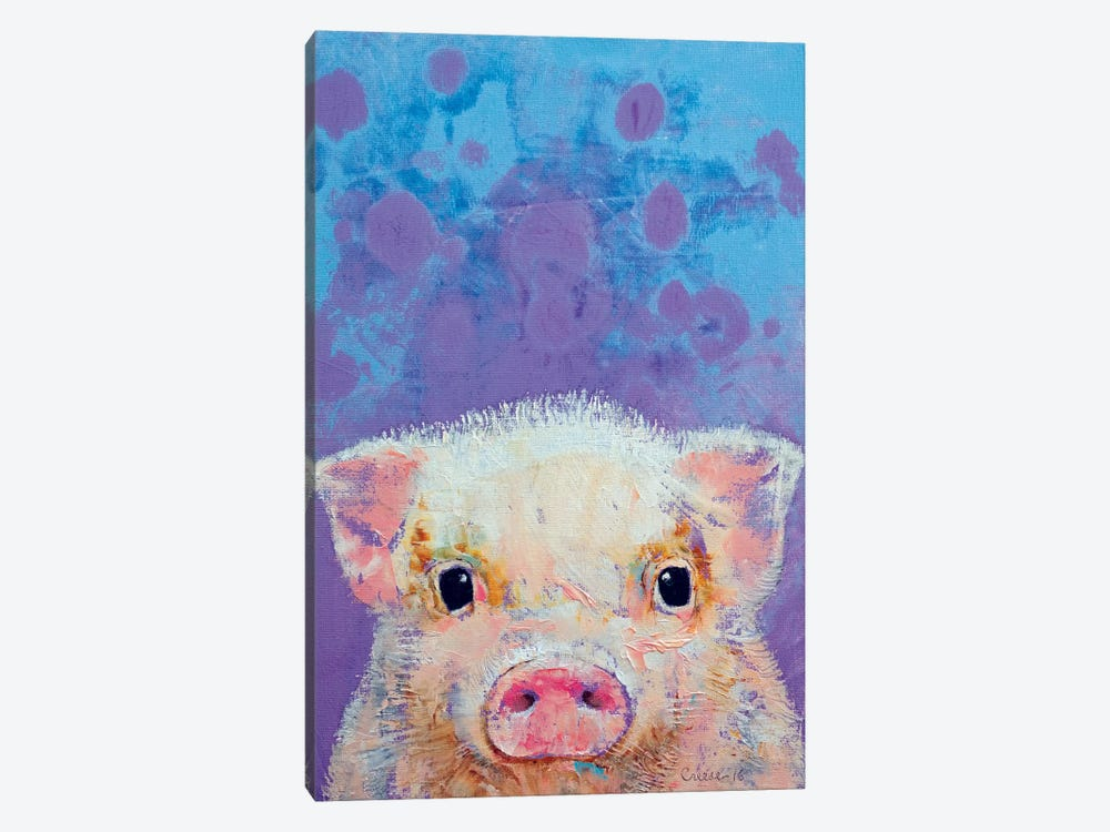 Piglet by Michael Creese 1-piece Canvas Artwork