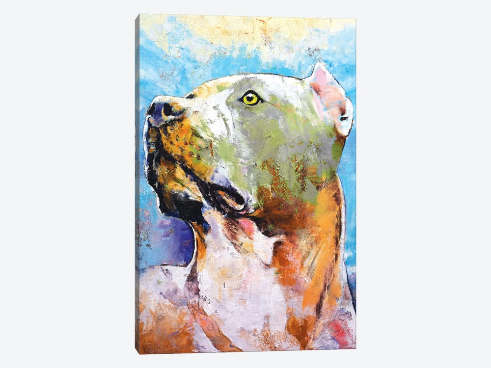 Pit Bull by Michael Creese 1-piece Canvas Wall Art