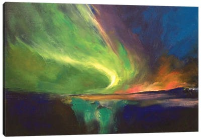 Aurora Borealis Canvas Print #MCR9