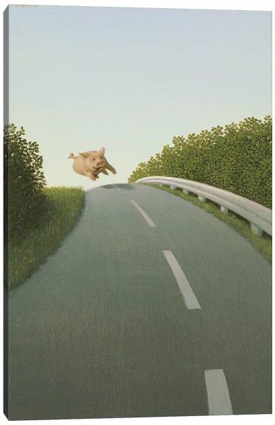 Highway Pig Canvas Art Print