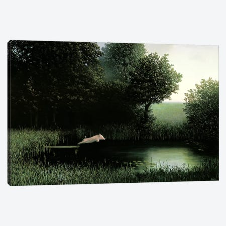 Koehler's Pig Canvas Print #MCS17} by Michael Sowa Canvas Print
