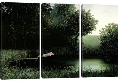 Koehler's Pig Canvas Art Print