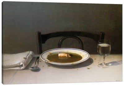 Soup Pig Canvas Art Print