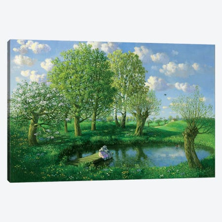 Spring (Otto's Eleven) Canvas Print #MCS21} by Michael Sowa Canvas Print