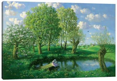 Spring (Otto's Eleven) Canvas Art Print