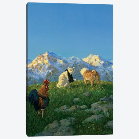 Untitled Canvas Print #MCS37} by Michael Sowa Canvas Print