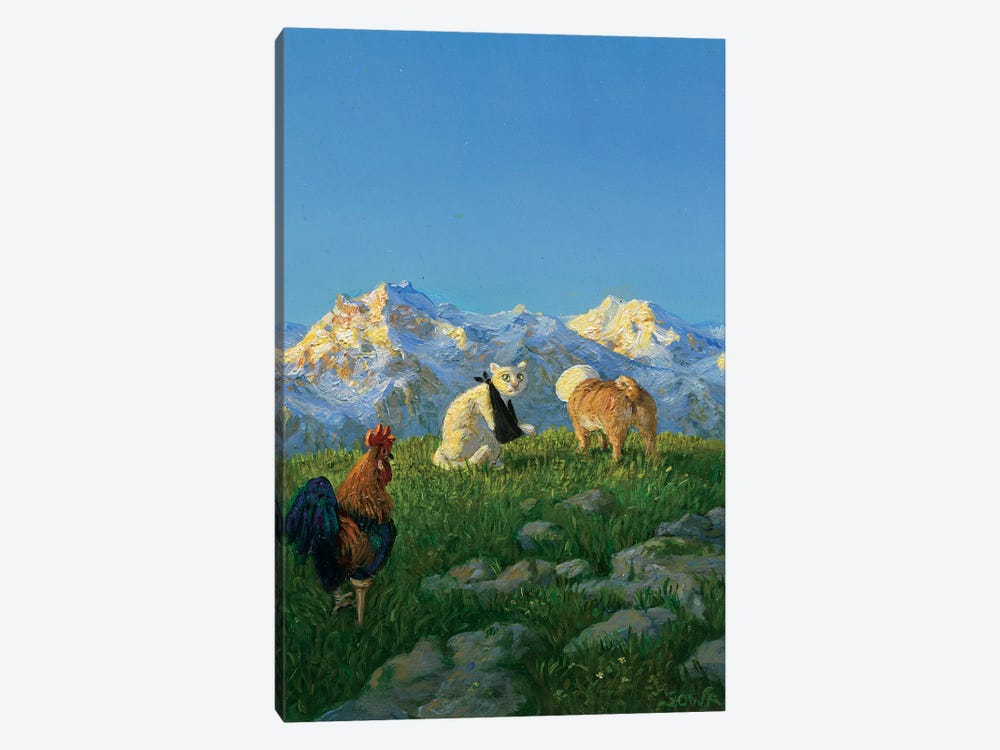 Untitled by Michael Sowa 1-piece Canvas Wall Art