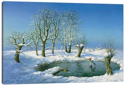 Winter (Otto's Eleven) Canvas Art Print