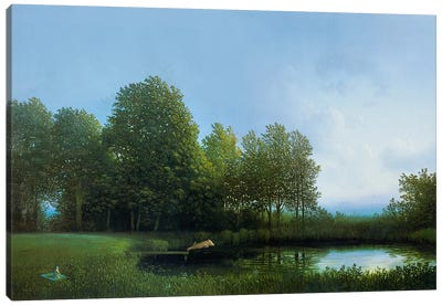 Koehler's Pig II Canvas Art Print