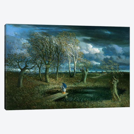 Autumn (Otto's Eleven) Canvas Print #MCS4} by Michael Sowa Canvas Wall Art