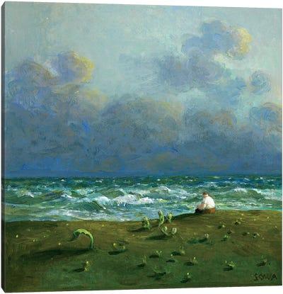 Costa de las Lagrimas Canvas Art Print