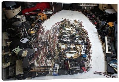 Hermeto Pascoal 3D Portrait Canvas Art Print