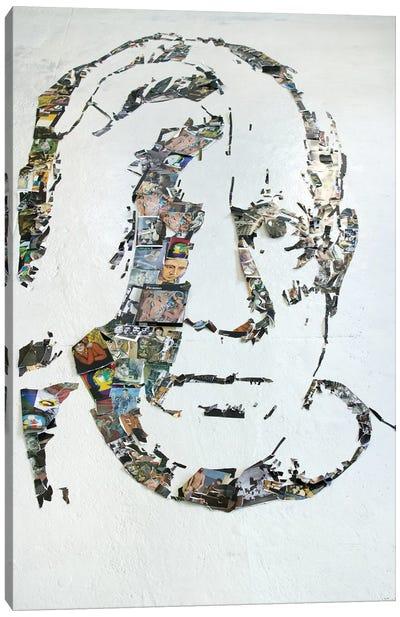 Pablo Picasso 3D Portrait Canvas Art Print