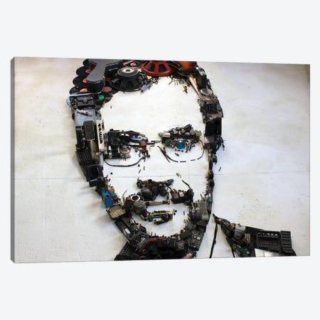 Renato Russo 3D Portrait Canvas Print #MCT20} by Mr. Copyright Canvas Artwork