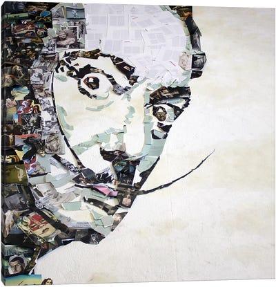 Salvador Dalí 3D Portrait Canvas Art Print