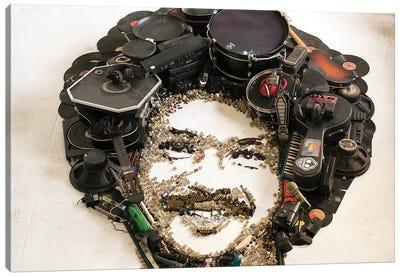 Tim Maia 3D Portrait Canvas Art Print