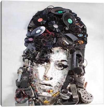 Amy Winehouse 3D Portrait Canvas Art Print