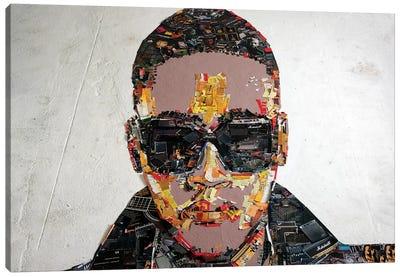 Anselmo Ralph 3D Portrait Canvas Art Print