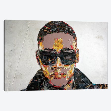Anselmo Ralph 3D Portrait Canvas Print #MCT4} by Mr. Copyright Canvas Art Print