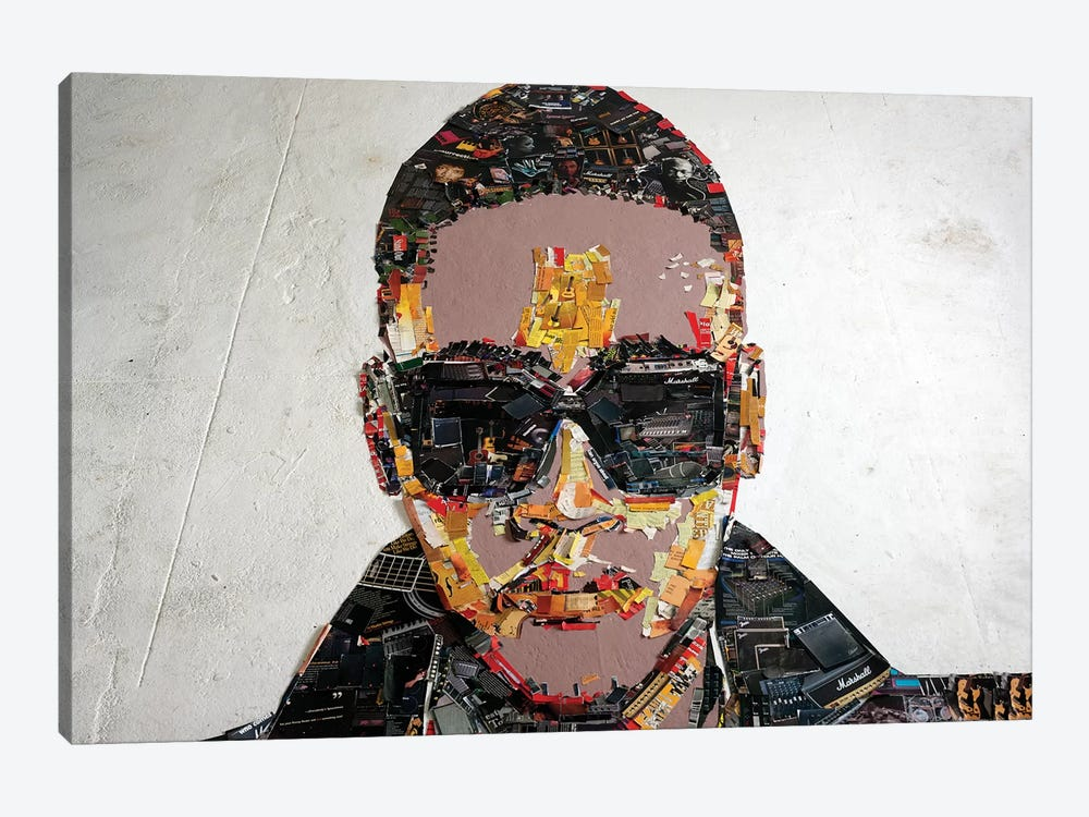 Anselmo Ralph 3D Portrait by Mr. Copyright 1-piece Canvas Artwork