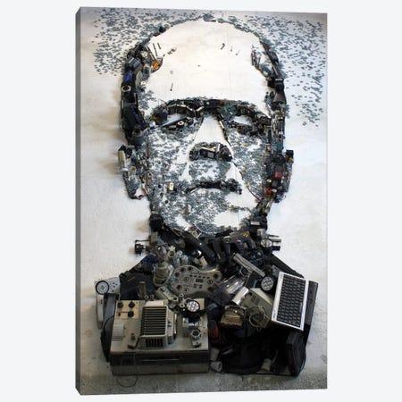 Boris Karloff As Frankenstein's Monster 3D Portrait Canvas Print #MCT5} by Mr. Copyright Canvas Print