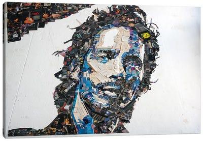 Chris Cornell 3D Portrait Canvas Art Print