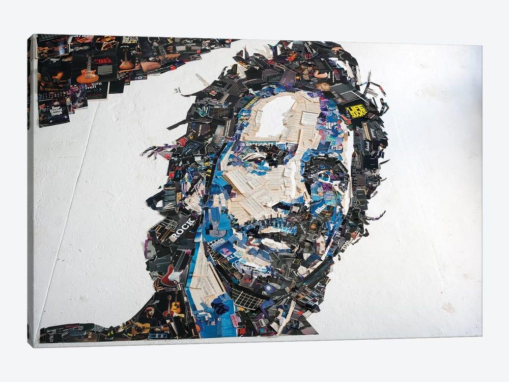 Chris Cornell 3D Portrait by Mr. Copyright 1-piece Canvas Artwork