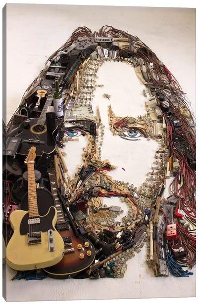 Eddie Vedder 3D Portrait Canvas Art Print