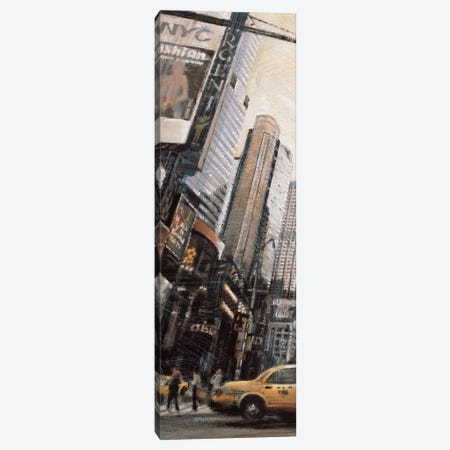 Times Square I 3-Piece Canvas #MDA13} by Matthew Daniels Canvas Art Print