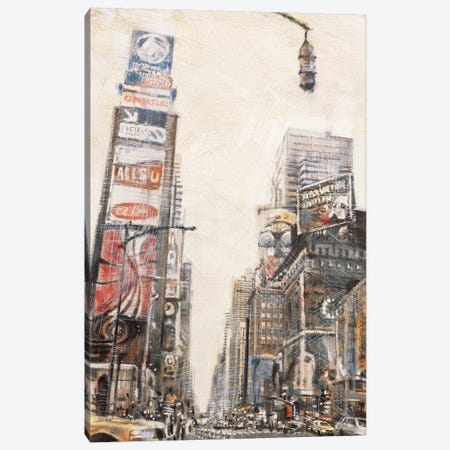 Times Square II 3-Piece Canvas #MDA14} by Matthew Daniels Canvas Art