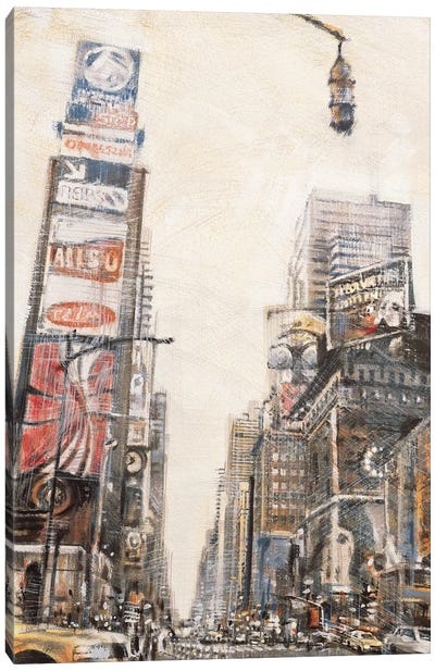 Times Square II Canvas Art Print