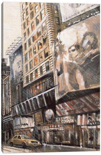 Times Square III Canvas Art Print