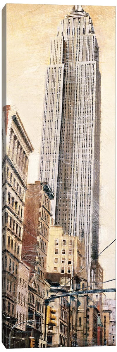 The Empire State Building Canvas Art Print