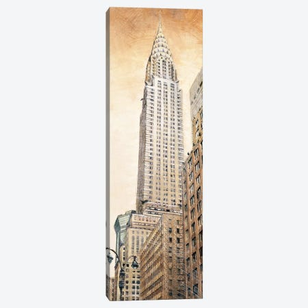 The Chrysler Building 3-Piece Canvas #MDA17} by Matthew Daniels Canvas Wall Art