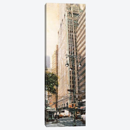 The Woolworth Building 3-Piece Canvas #MDA18} by Matthew Daniels Canvas Print